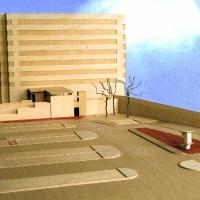 maquette kunstwerk Ziekenhuis Velp